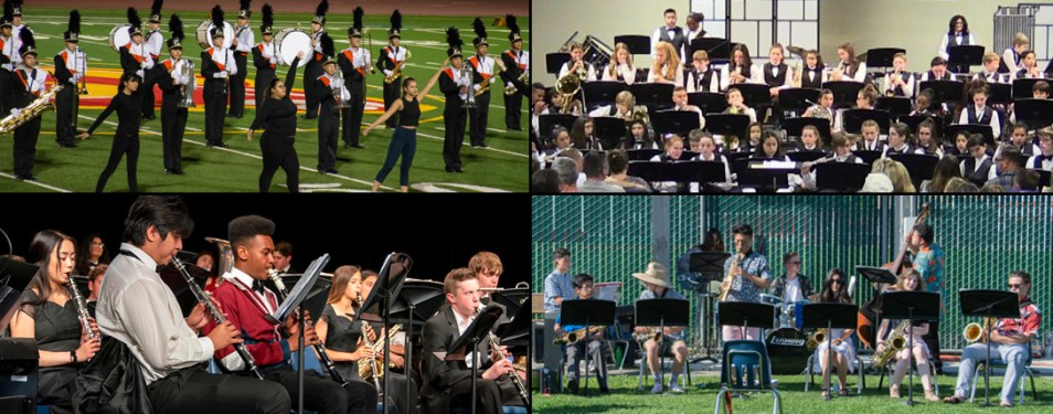 WGHS & WGMS Bands