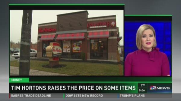 Tim Hortons Raises The Price On Some Items | WGRZ.com