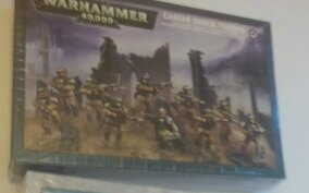 Cadian Shock Troops Box