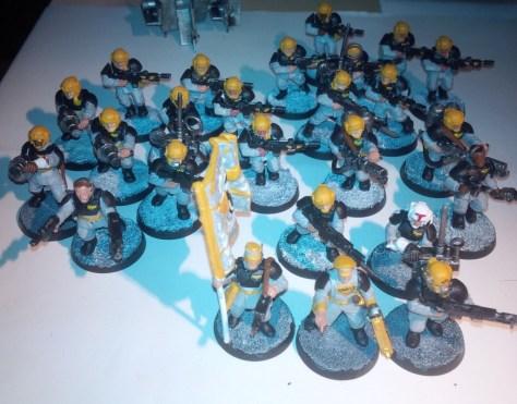 My Astra Militarum Infantry Models