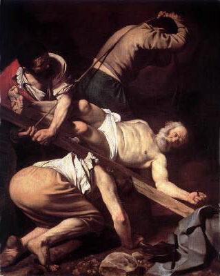 Carravagio, Crucifixion of Saint Peter