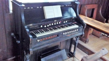The second organ - ready to groove
