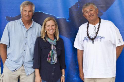 Whale Trust Co-Founders Jim Darling, Meagan Jones, and Flip Nicklin