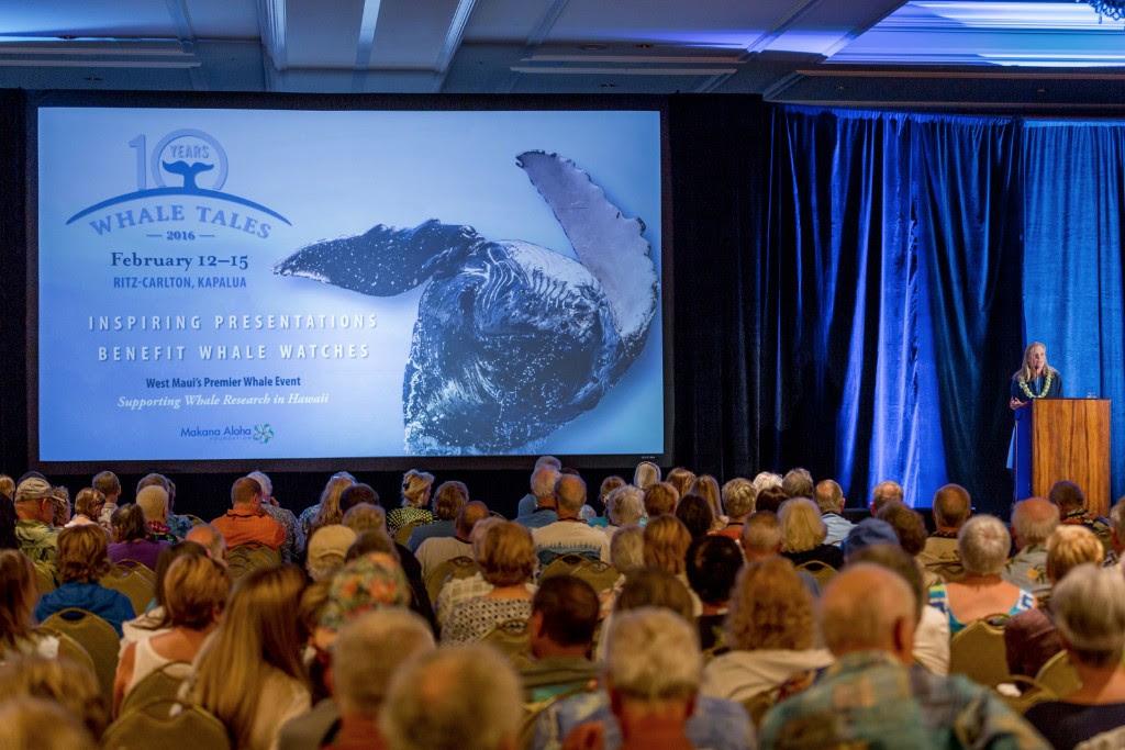Meagan Jones Speaking to Whale Trust Crowd