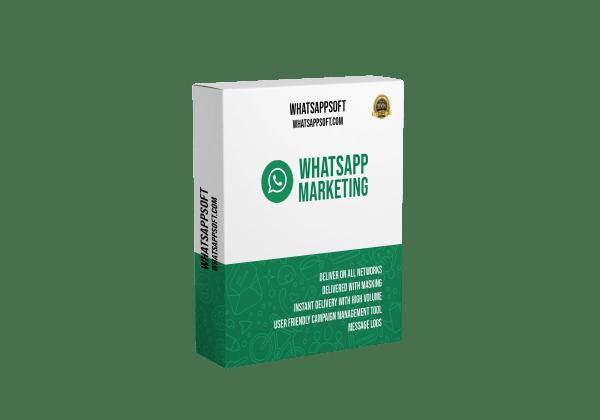 whatsapp marketing software box