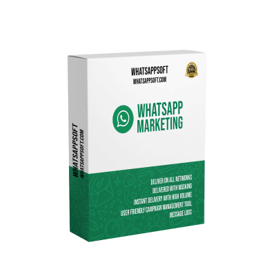 whatsapp marketing software box