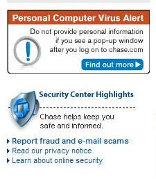 Chase Virus Warning