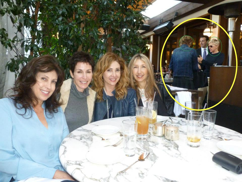 Sorry Ellen and Portia.But it was fun seeing you anyway!