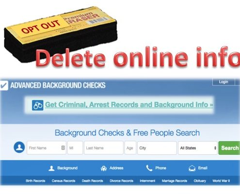 Delete your online info