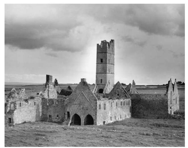 Moyne Abbey, Co. Mayo.