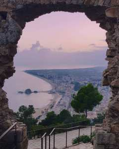 Iconic picture taken from Castle Sant Joan