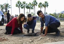 Scorpion - 4.11 - Who Let the Dog Out ('Cause Now It's Stuck in a Cistern)