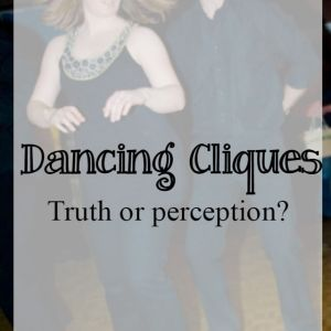 Dancing cliques – truth or perception?