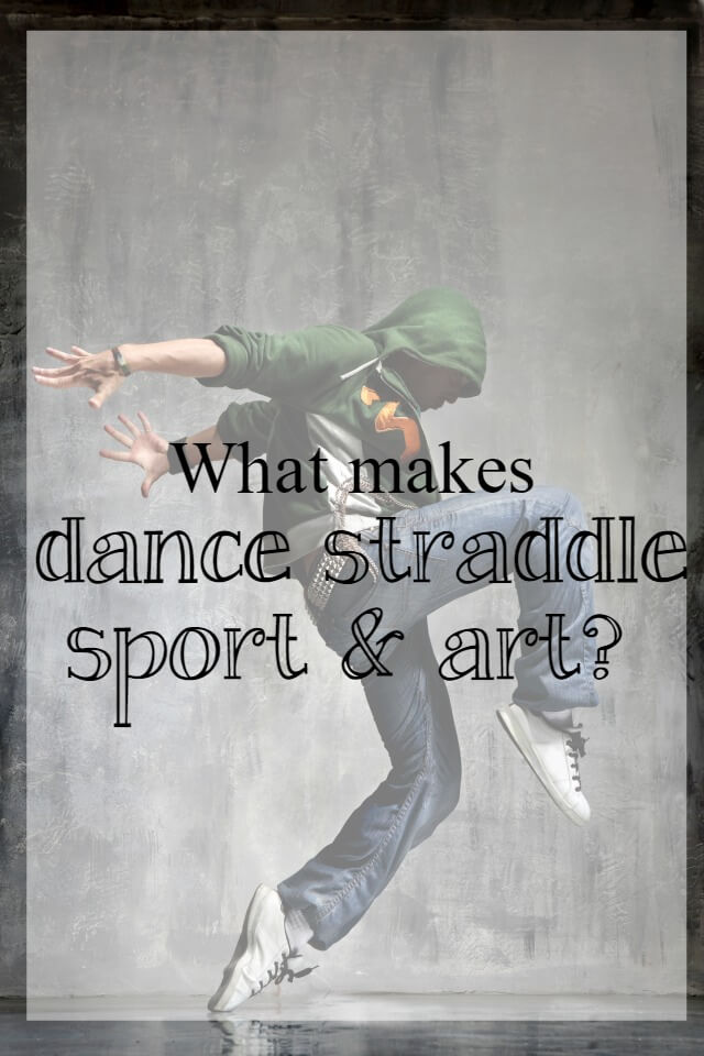 dance straddling sport and art = What about dance