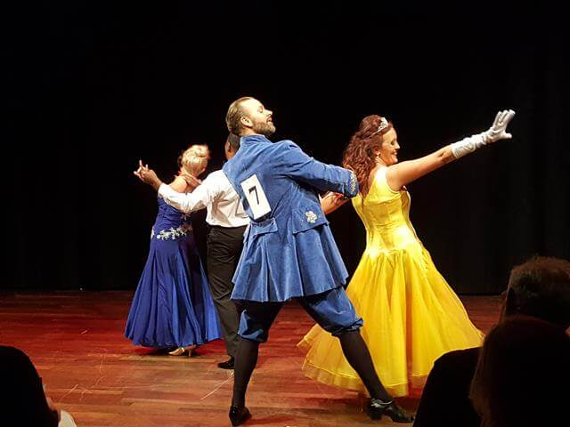 Beauty and the beast style dance costumes