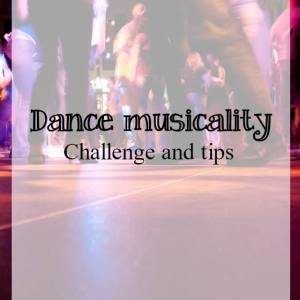 Dance musicality in modern jive