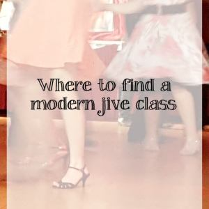 How to find the modern jive dance class for you