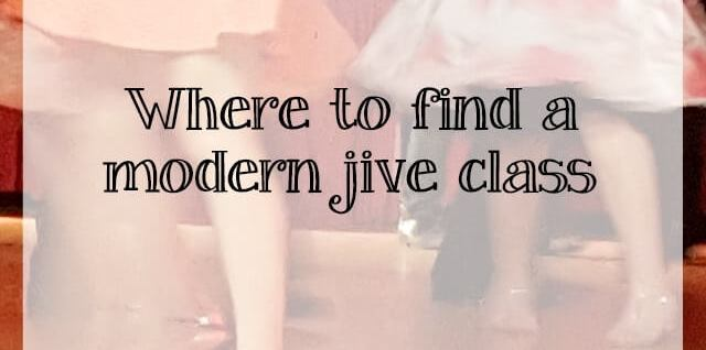 where to find modern jive classes - whataboutdance.com