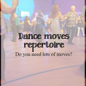 Do you need to know lots of modern jive moves