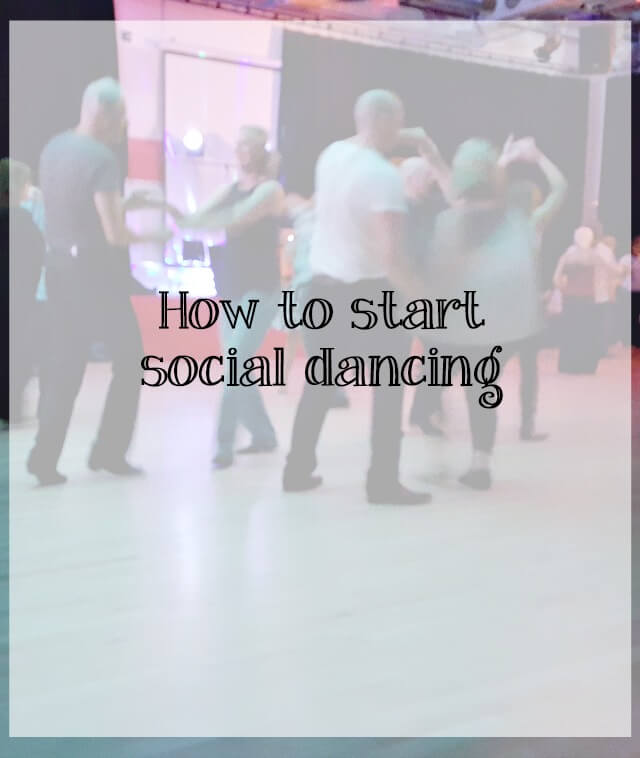 How to start social dancing - what about dance