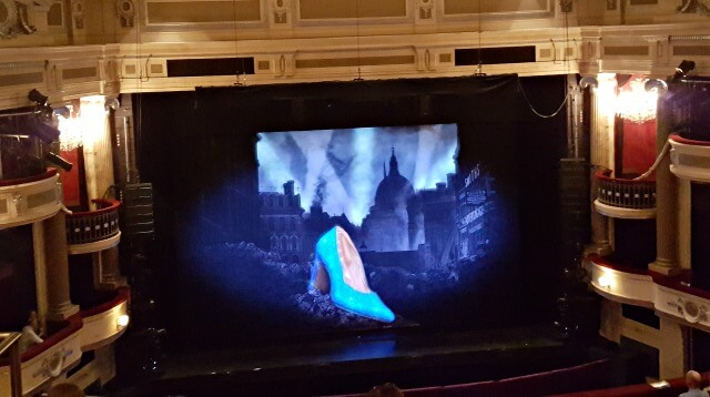 cinderella's shoe Birmingham hippodrome theatre