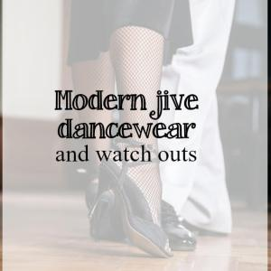 Modern jive dancewear options and key watch outs