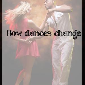 How dances change with the same people