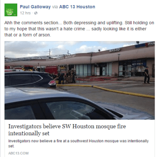 galloway on mosque fire in houston. edited PNG