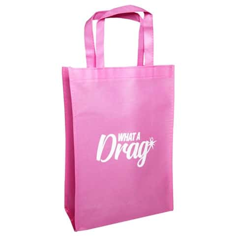What A Drag tote bag (large)