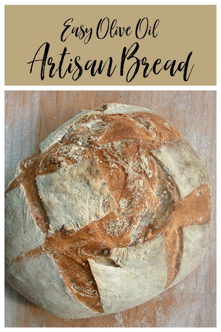 This easy artisan bread takes just a few minutes to make! Pop the no-knead dough in the fridge for pizza, bread or pita!
