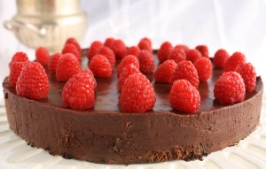 Gluten free dark chocolate Flourless cake