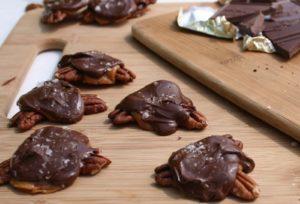 Salted Caramel Turtles