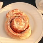 Homemade Cinnamon Rolls - made from soft challah dough! Recipe from @whatagirleats