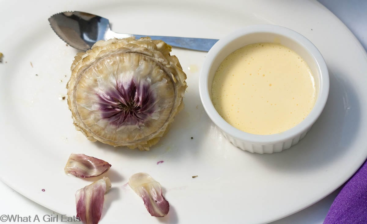 No-fail Hollandaise in the blender. Perfect Hollandaise sauce in under 1 minute! @whatagirleats.com