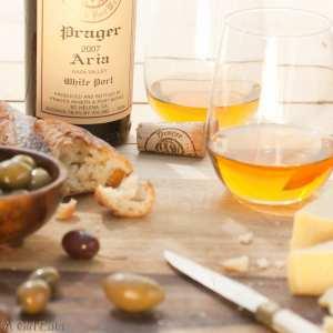 """Prager's """"Aria"""" white port as an aperitif."""
