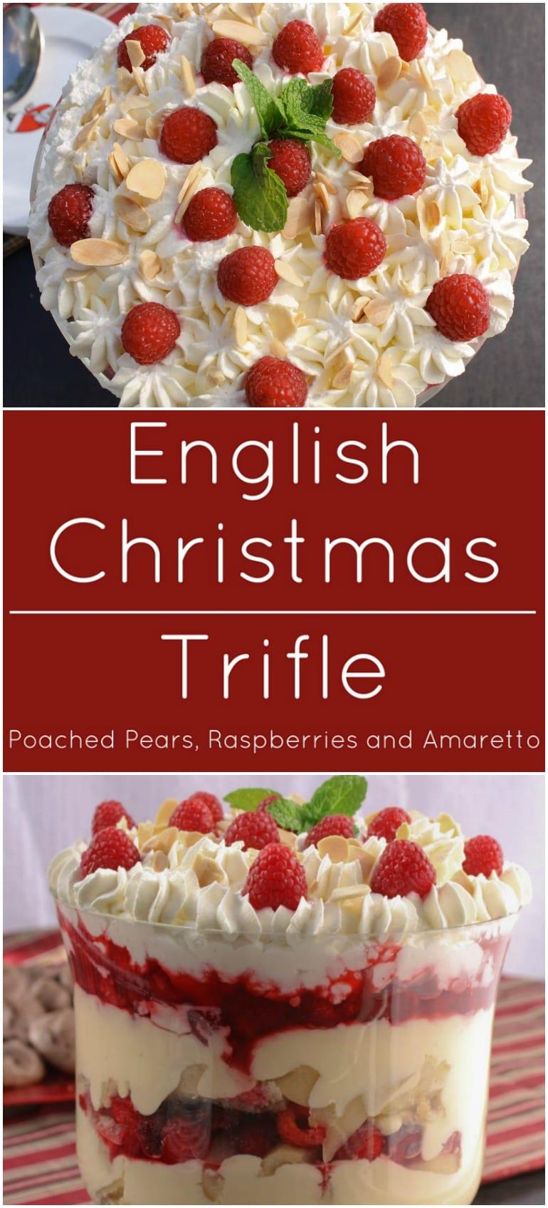 English Christmas Trifle - What A Girl Eats