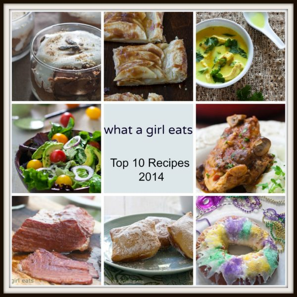 Top 10 Favorite Recipes of 2014 from What a Girl Eats