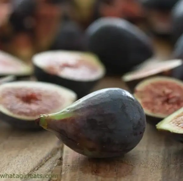 Mission figs used to make Ruby Port Fig Jam