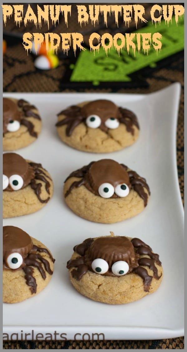 spider peanut cookies