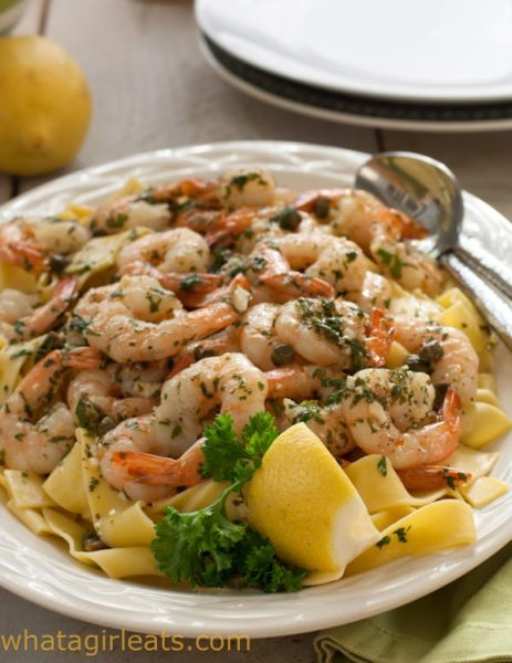 Get dinner on the table quickly with this easy 30 minute Shrimp Picatta.