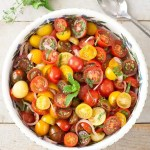 Tomato Balsamic Mint Salad {Whole30, Paleo, Vegan}