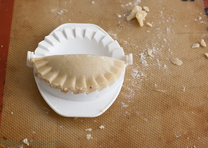 Sausage, Apple-Sage Hand pies. Perfect for picnics, tailgating or lunches.