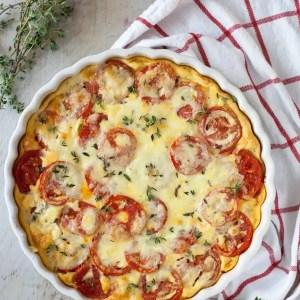 Gluten-Free Tomato Cheese Tart