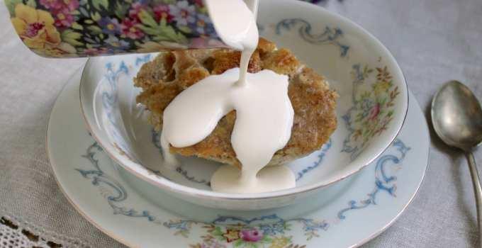 Ipswich Almond Pudding