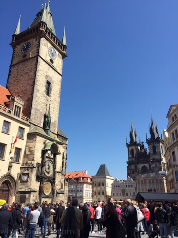 The Medieval Astronomical Clock Tower in Prague was installed in 1410, making it the oldest operating clock tower in the world.
