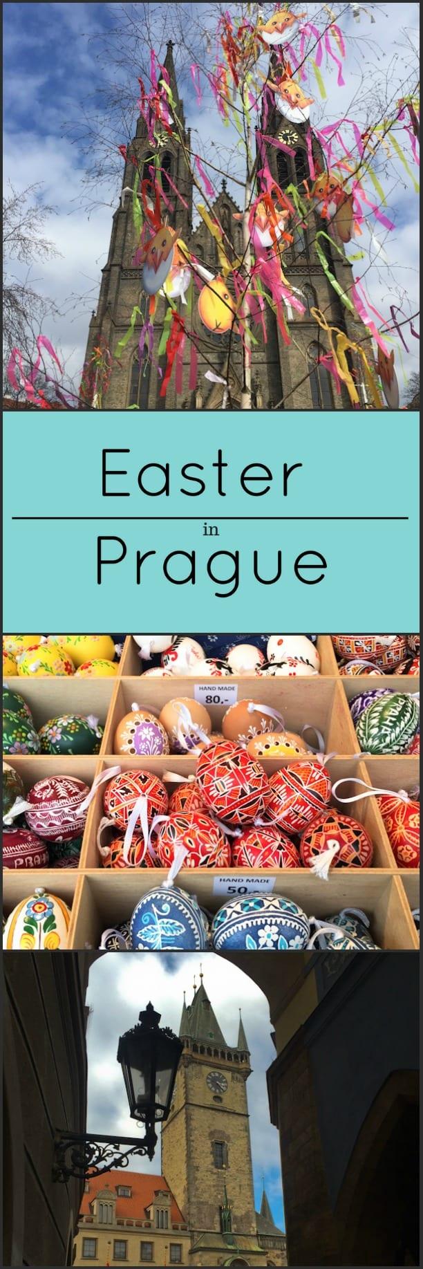 Easter in Prague, Czech Republic.