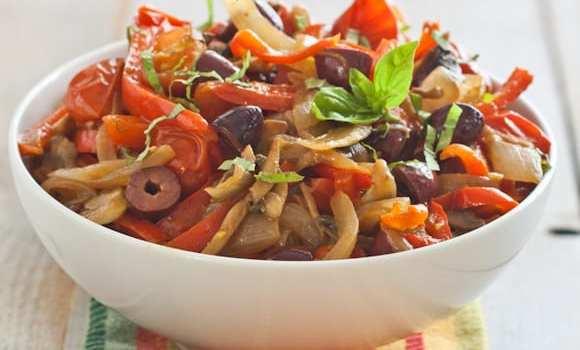 Mediterranean Vegetables {Whole30}