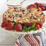 Grain free Fresh Berry cake is a delicious addition to your gluten free baking!