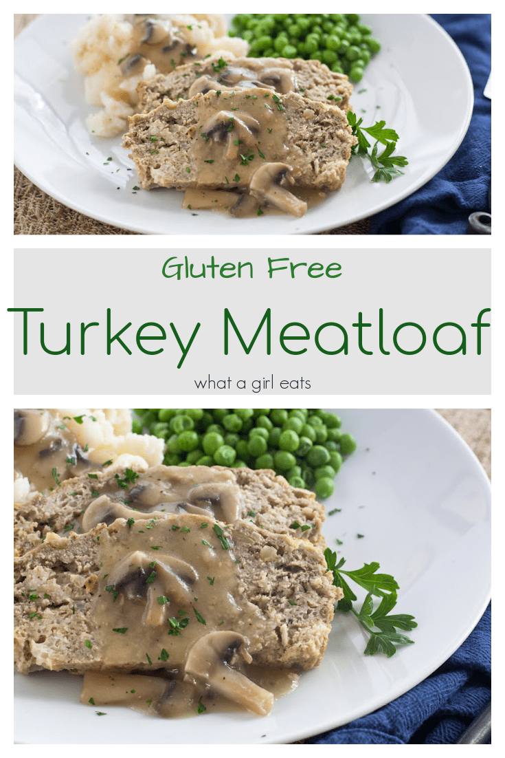 This gluten free turkey meatloaf recipe is light and fluffy with no ketchup! It's so delicious you'll want to make a double batch!