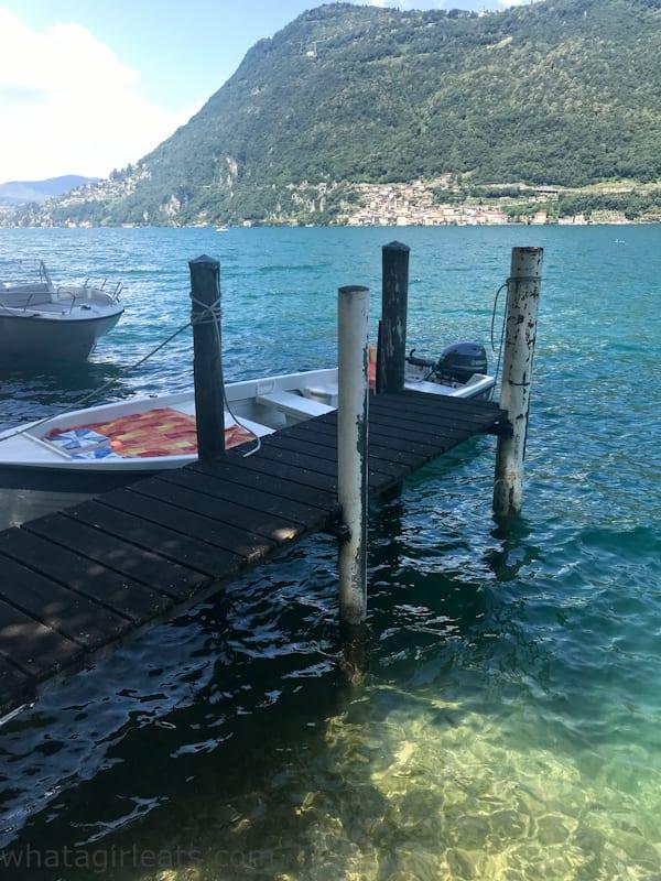 Grotto Descanso Lake Lugano Cruise and Cook
